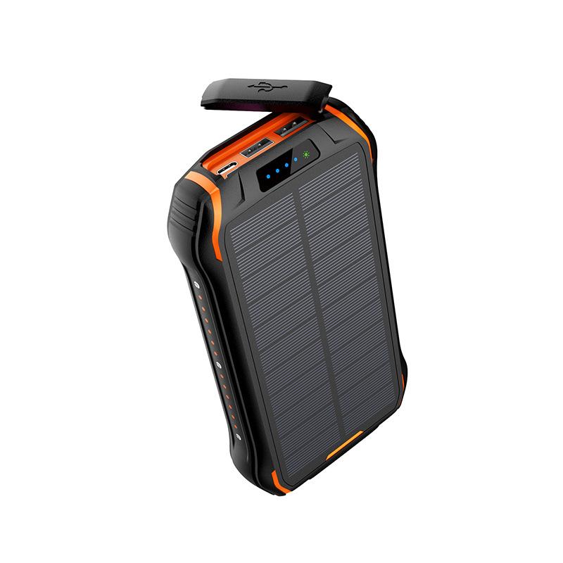 Large Capacity Waterproof Solar Power Bank