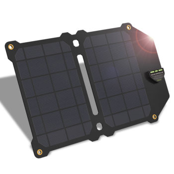 Dual USB Foldable Solar Charger